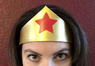Wonder Woman Headband Tiara
