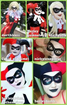 Harley Quinn Classic II Mask