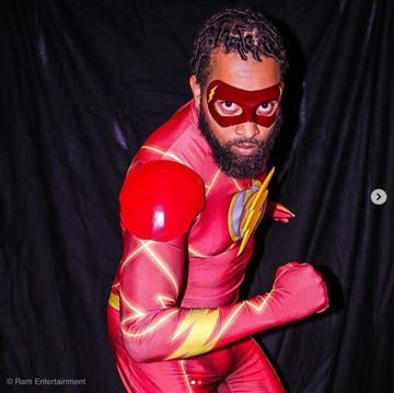 The Flash Cosplay Eye Mask