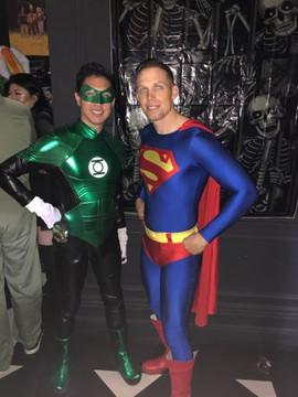 Green Lantern Mask Model: Christopher Mui