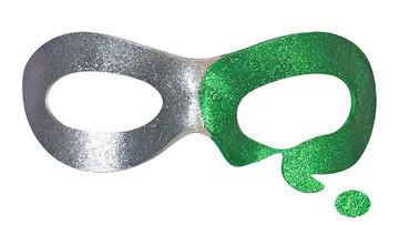Riddler Batman Forever mask front