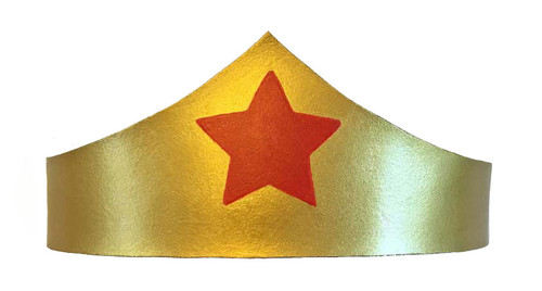 Wonder Woman Crown Front