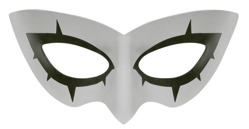 Persona 5 Joker Mask Front Gray