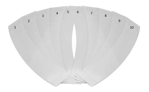 Mask tape adhesive 10 Pack