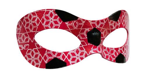 Ice Ladybug Inspired Mask Right
