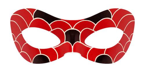 Aqua Ladybug Mask Front