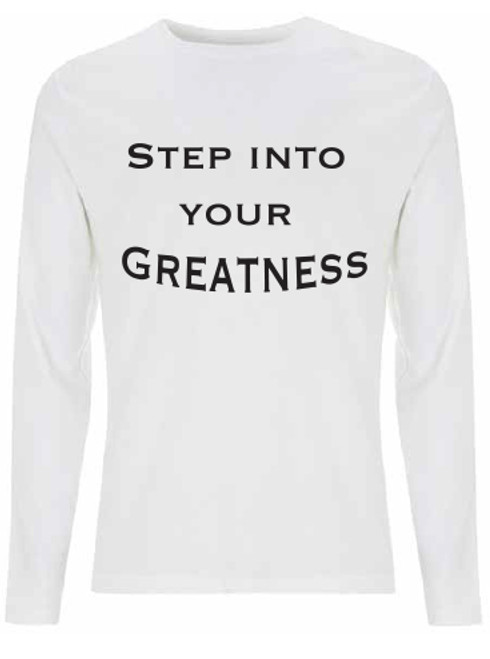 edb25f23ce0b Step into your Greatness