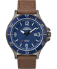 Expedition Ranger 43mm Leather Strap Watch
