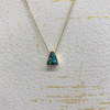 14kt Yellow Gold Boulder Opal Necklace