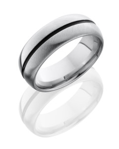 Cobalt Chrome 8mm Domed Band