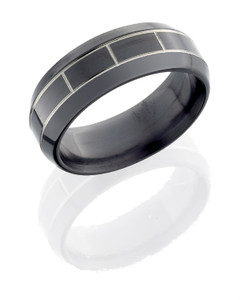 Zirconium 8mm band