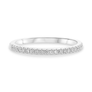 Stackable Fishtail Diamond Band