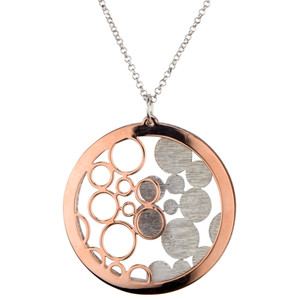 STERLING SILVER ROSE GOLD PLATED BUBBLES GALORE