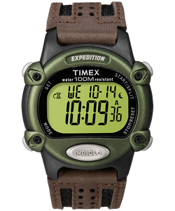 Expedition 39mm Nylon Strap Watch - Black/Brown/Green