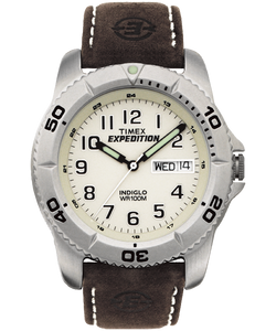 Expedition Traditional 40mm Leather Strap Watch