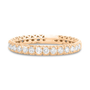 HIDDEN HEART PAVE DIAMOND BAND