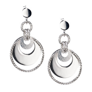 STERLING SILVER JENNY EARRINGS