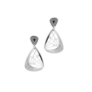 STERLING SILVER MADELAINE EARRINGS