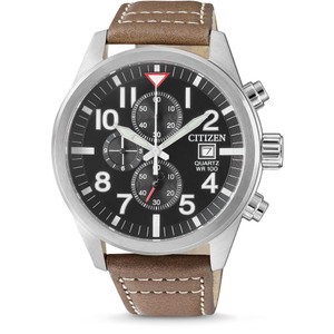 Citizen Quartz Chronograph Watch with Stopwatch