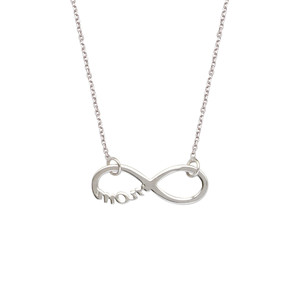 Sterling Silver Infinity Mom Necklace