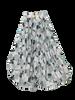 Girls Skirt grey dotts
