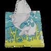 Swimming Towel -with hood - Baby shark