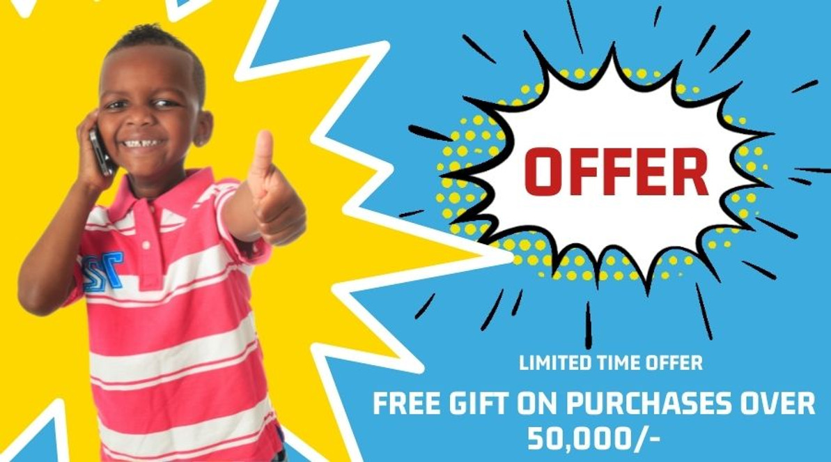 Free Gift Offer (October 2021)