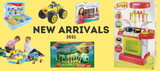 New arrivals - School items, uniforms, toys and more