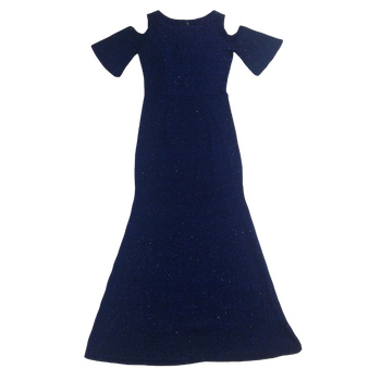 GIRLS DRESS -BLUE