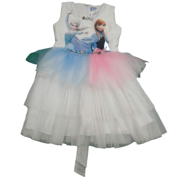GIRLS DRESS - FROZEN