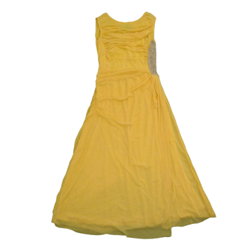Girls Long Dress  - yellow