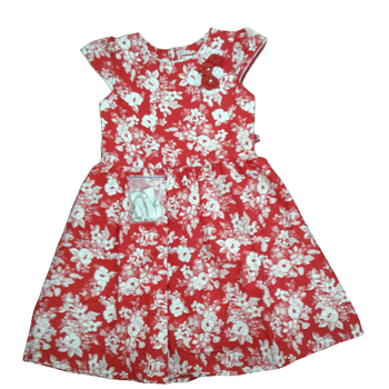Girls Dress - REDS