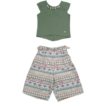 Girls set -Green