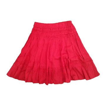 Girls skirt- plan Red
