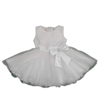 Girls Dress - White