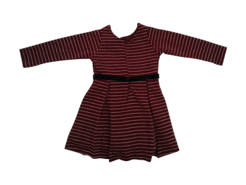 Girls Dress - maroon