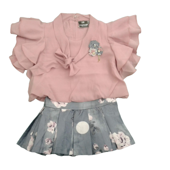 Girls Set  - Skirt & Top