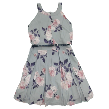 Girls Dress -GREY