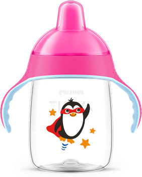 My Penguin Sippy Cup 9oz ( 12M+ ) 260ML Pink