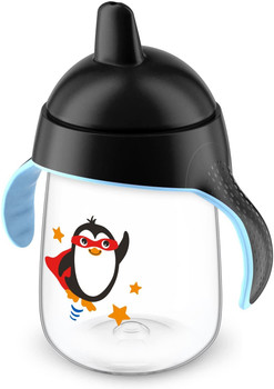 My Penguin Sippy Cup 12oz ( 18M+ ) 340ML Black