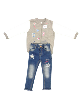 Jeans+Top Set