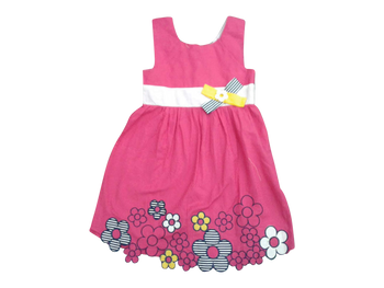 Dress - Flower power (pink)