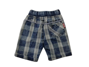 Shorts - Blue plaid checks