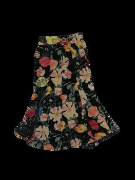 Girls Skirt Flowers