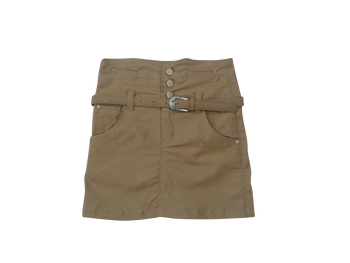 Girls Skirt  khaki