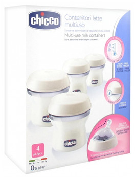 BREAST MILK CONTAINERS ( 4 PC ) 150ml