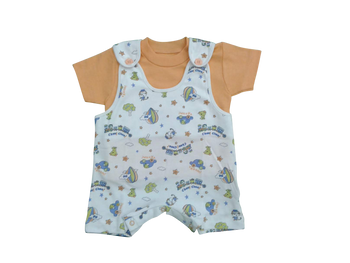 Infant -Baby Boy Set Overall