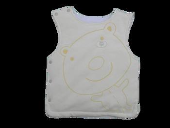 Infant/Baby Boy Vest Yellow Teddy