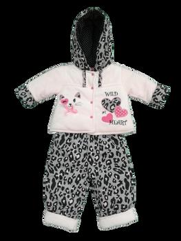 Infant/Baby Girl  jacket pink