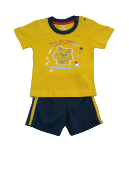 Infant/Baby - Boys set yellow